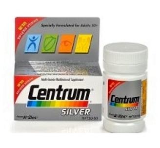 צנטרום סילבר - מולטיויטמין לבני 50 ומעלה
