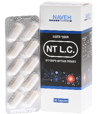 NT L.C Anti Leg Cramps כמוסות מגנזיום