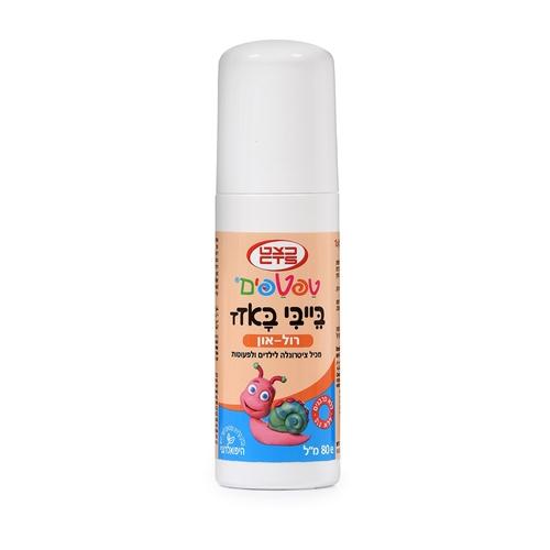 טפטפים בייבי-באזז רול און להגנה והרגעת העור Taftafim Baby Bazz