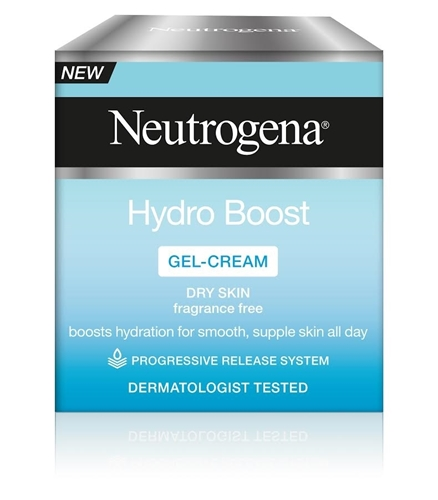 Hydro Boost ג'ל קרם לחות לעור יבש Neutrogena Hydro Boost Gel-Cream Dry Skin
