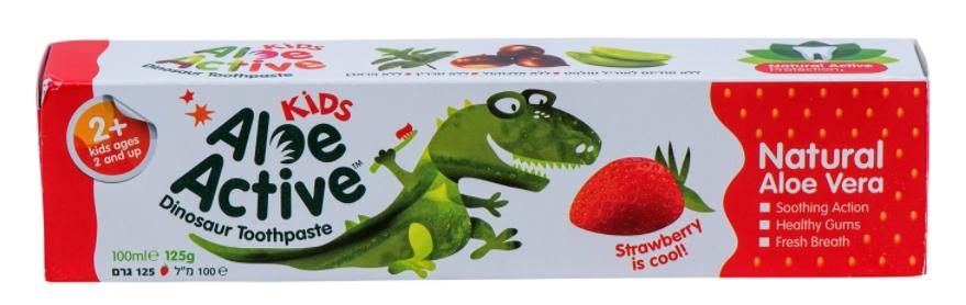 אלו אקטיב משחת שיניים לילדים Aloe Active Kids