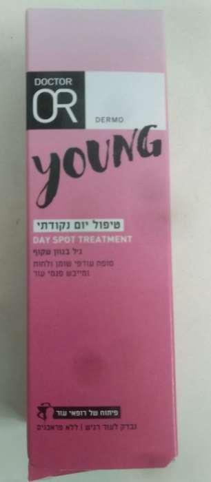 """ד""""ר עור ג'ל בגוון שקוף טיפול יום נקודתי DR OR YOUNG DAY SPOT TREATMENT"""