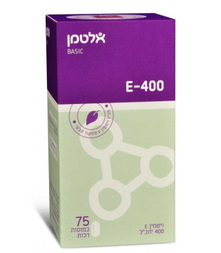 ויטמין E-400 ממקור טבעי אלטמן