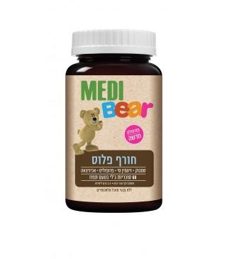חורף פלוס מדיבר 60 סוכריות ג'לי MEDI Bear