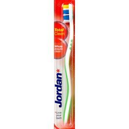מברשת שיניים ג'ורדן טוטאל קלין רביעייה | Jordan Total Clean soft