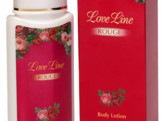 קרם גוף אדום מאוהב חלאבין LOVE LINE ROUGE