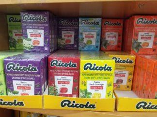 ריקולה סוכריות צמחים ללא סוכר | RICOLA