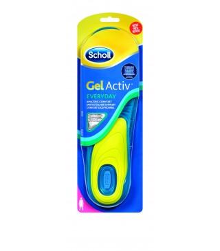רפידות שול ג'ל אקטיב Scholl Gel Activ - דגם יום יום לנשים