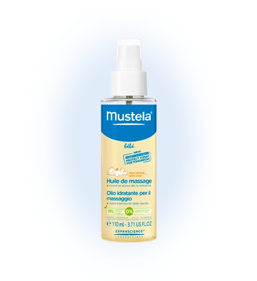 שמן עיסוי לתינוקות וילדים מוסטלה Mustela Massage Baby Oil