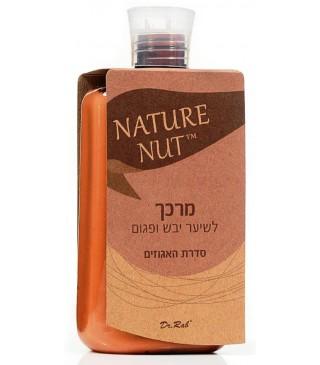 NATURE NUT מרכך לשיער יבש ופגום סידרת האגוזים