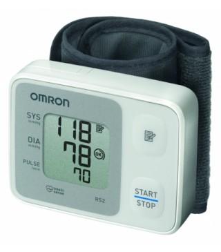 OMRON RS2 מד לחץ דם לשורש כף היד אומרון