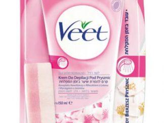 Veet קרם להסרת שיער בזמן המקלחת In Shower Hair Removal Cream