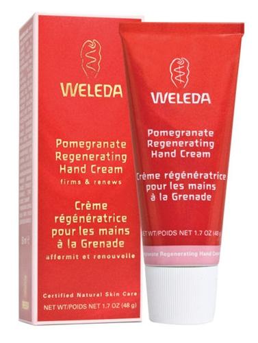 קרם ידיים רימונים וולדה משקם לטיפוח עשיר ומפנק Weleda Pomegranate Regenerating Hand Cream