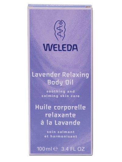 שמן גוף לבנדר וולדה Weleda Lavender Relaxing Oil