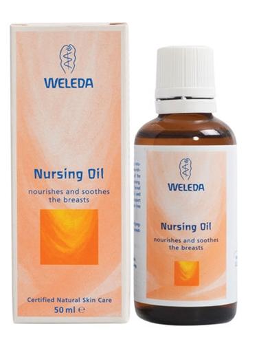 שמן הנקה וולדה Weleda Nursing Oil