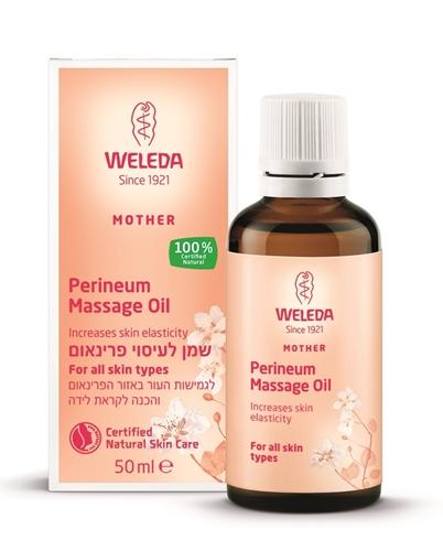 שמן לעיסוי פרינאום וולדה (אזור החיץ) לקראת לידה Weleda Perineum Massage Oil