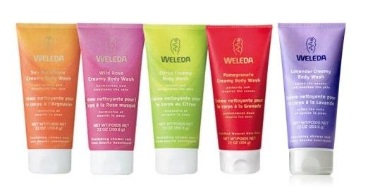תחליב רחצה לרחצה מרעננת וניקוי העור וולדה Weleda Creamy Body Wash