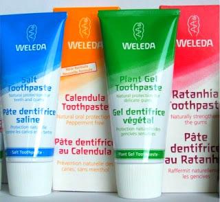 מיוחדים משחת שיניים WELEDA וולדה UV-26