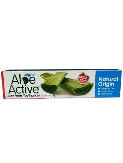 """משחת שיניים אלו אקטיב אוריג'ינל 100 מ""""ל Aloe Active Toothpaste"""