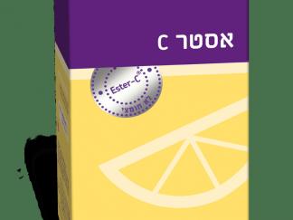 """אסטר C ויטמין לא חומצי אלטמן 500 מ""""ג"""