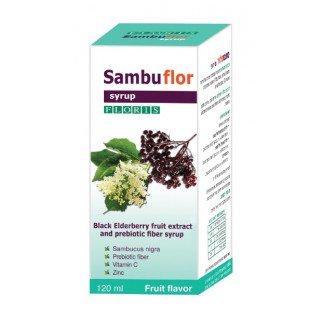 סמבופלור נוסחת סמבוק מורחבת לשתיה לילדים ולמבוגרים SAMBUFLOR SYRUP