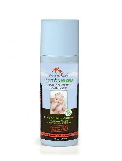 שמפו אורגני אל דמע מאמי קר לתינוקות וילדים טבעי ללא SLS