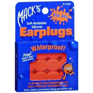 Macks אטמי אוזניים לילדים