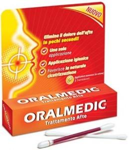 ORALMEDIC אורלמדיק לטיפול באפטות