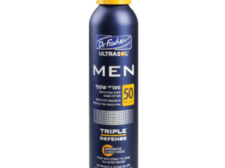 אולטרסול MEN ספריי רציף שקוף לגבר SPF50 Ultrasol Men