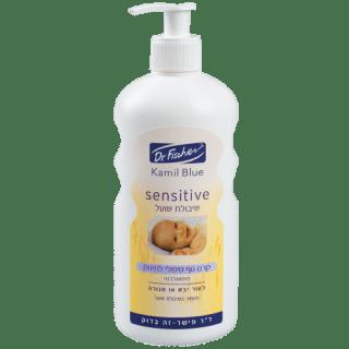 אל סבון טיפולי לתינוק קמיל בלו סנסטיב שיבולת שועל