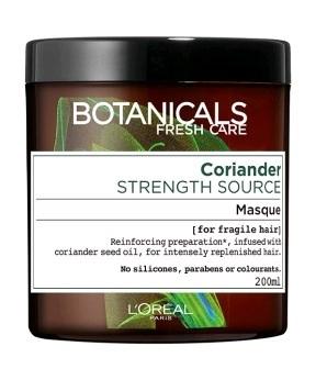 בוטניקלס Coriander מסכה לשיער לחיזוק סיב השערה לוריאל
