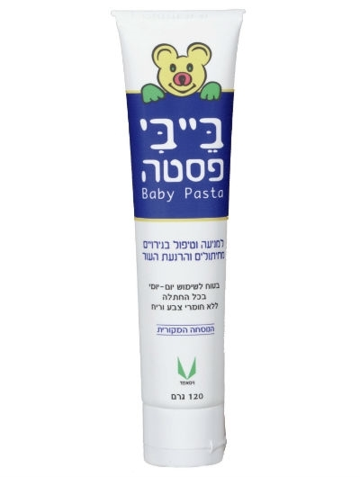 בייבי פסטה קרם להרגעת עור התינוק Baby Paste Baby Cream