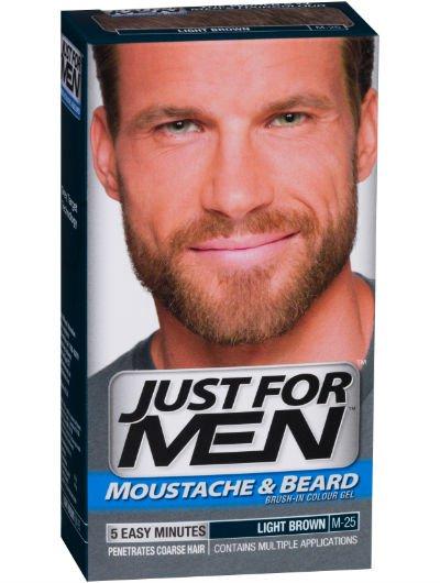 ג'אסט פור מן לצביעת שפם ופאות במרקם ג'ל Just For Men