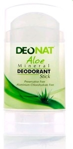 דאונט דאודורנט אבן מינרלי אלוורה ALOE-VERA DeoNat Mineral Deodorant
