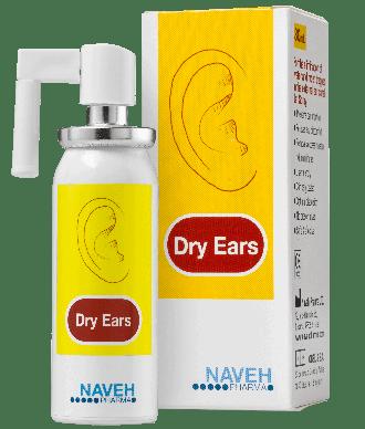 דריי אירס תרסיס לאוזן נגד רטיבות Dry Ears