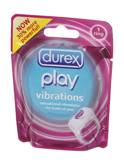טבעת רוטטת דורקס פליי להגברת החוויה Durex Play Vibrations