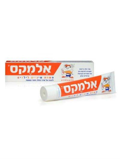 משחת שיניים אלמקס לילדים לגילאי 2-6 Elmex Toothpaste For Children
