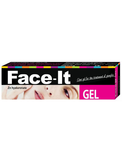 פייס איט ג'ל שקוף לטיפול בפצעי אקנה FACE IT GEL