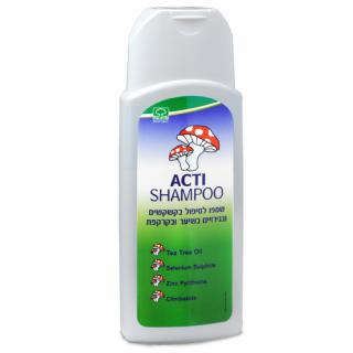 Acti Shampoo אקטי שמפו למניעה וטיפול בקשקשים