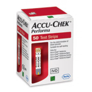 Performa Test Strips Accu Check סטיקים למד סוכר