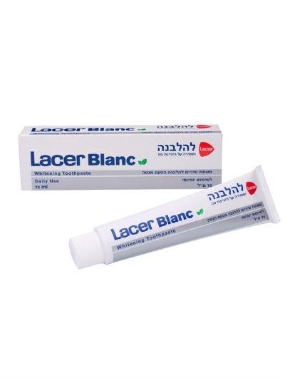לאסר בלאנק משחת שיניים להלבנה Lacer Blanc Toothpaste