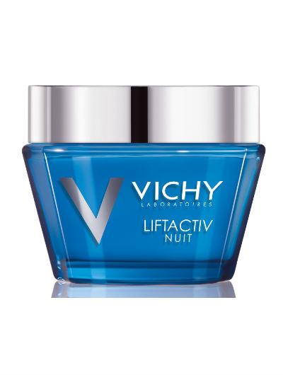 ליפטאקטיב וישי קרם לילה לטיפול בקמטים ומיצוק העור Vichy Liftactiv Night
