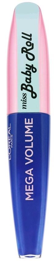 מגה ווליום לוריאל מיס בייבי רול מסקרה כחולה L'Oreal Mega Volume Miss Baby Roll