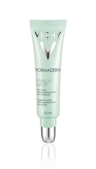 נורמדרם היאלוספוט וישי ג'ל לטיפול ממוקד ומהיר בפגמי עור Vichy Normaderm Hyaluspot