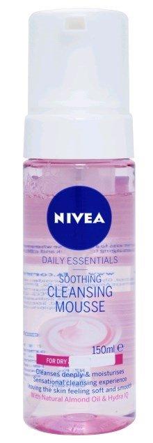 ניוואה תרחיץ מוס לניקוי יום יומי לעור יבש ועדין Nivea Cleansing Mousse