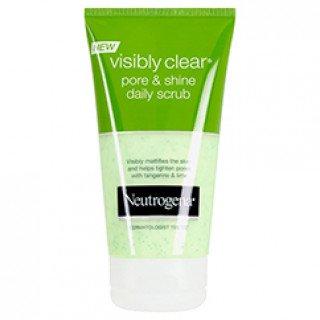 ניוטרוג'ינה ויזבלי קליר Pore & Shine תרחיץ גרגירים יומיומי בניחוח הדרים Neutrogena Visibly Clear Scrub