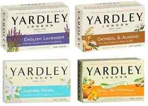 סבון יארדלי מוצק לאישה לבנדר /  פרחים / סיגליות / שושנת העמקים YARDLEY SOAP