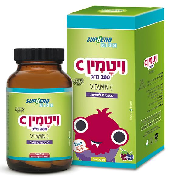 סופהרב ויטמין C למציצה