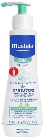 סטלטופיה קרם רחצה טיפולי מוסטלה Mustela Stelatopia Cleansing Cream