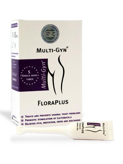 פלורה פלוס לטיפול טבעי מולטי ג'ין  Multi Gyn Flora Plus